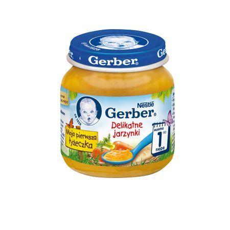 Гербер Бебешко пюре Нежни зеленчуци 125 гр.